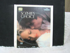CED VideoDisc Sophie's Choice (1982), Precision Video Limited Presentation