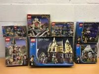 HARRY POTTER LEGO COMPLETE BOXED RARE 4714, 20, 29, 31, 50, 54, 55, 57 HOGWARTS