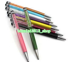 2X Crystal 2in 1 Writing Stylus Touch Screen Pen For IPhone IPad Samsung Tablet