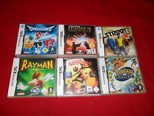 6 DS Spiele - z.B. Pokémon Ranger , Fifa Street 2 und 3, ????