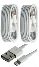 2x LOT USB Data Sync Cable 8 PIN Charger fits Apple iPhone 6 Plus 7 5s 5c iOS 10