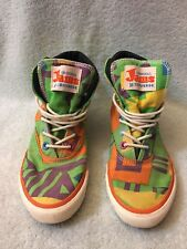 Converse Original Jams MultiColor High Top Sneaker Shoes Men's Sz 6.5 RARE