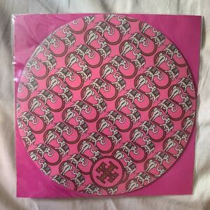 Tory Burch RARE Japan Only Pink Elephant Print MOUSE PAD Mousepad OFFICE STUFF
