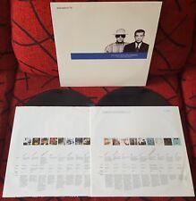 PET SHOP BOYS *** Discography *** VERY SCARCE 1991 Spain 2-LP SET w/INSERTS!