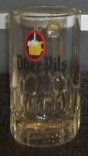 Belle & Ancienne Chope à Bière en Verre ÜBER PILS 25 cl en Très Bon Etat