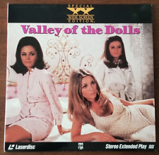 LASERDISC Movie: VALLEY OF THE DOLLS - Patty Duke, Sharon Tate - Collectible