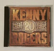 20 Great Years by Kenny Rogers CD Lucille Lady The Gambler You Decorated My Life