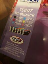 Cartouche Encre Epson T0807 multipack T0801 T0802 T0803 T0804 T0805 T0806