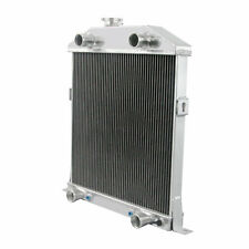 For 1942 43 44 45 46 47 48 Mercury 29A Ford Super Deluxe 3 Row Alum Radiator