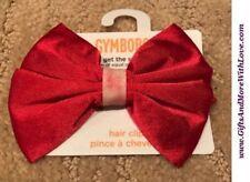 Gymboree Spring Sparkle Ponytail Hair Bow Gem NEW