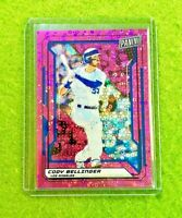 CODY BELLINGER PRIZM CARD JERSEY #35 DODGERS SP #/50 REFRACTOR 2019 National VIP