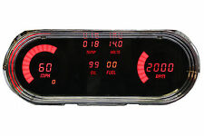 Chevy Nova DIGITAL DASH Gauge PANEL FOR 1963-1965 Intellitronix RED LED US Made