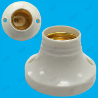 E27 Edison Screw Cap Socket, Light Bulb Holder Fitting ES Lamp Fixing 63mm Base
