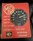 MG Series TC TD TF TF-1500 MGA MGA-1600 MKI MKII WORKSHOP MANUAL 1946-1963