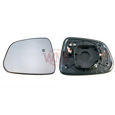 CHEVROLE CAPTIVA 2007->2011 WING MIRROR GLASS SILVER, HEATED& BASE,LEFT SIDE