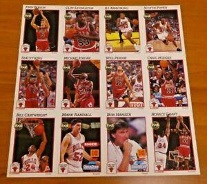 Michael Jordan Kodak Chicago Bulls Basketball Promo Sheets