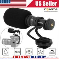 COMICA CVM-VM10II Cardioid Directional Video Microphone Mic for Action Camera