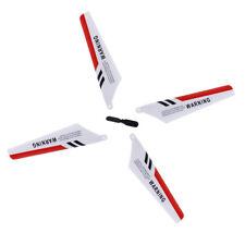 4 x pale Syma S107 S107G Gyro telecomando pezzi di ricambio elicottero ripa W5J5