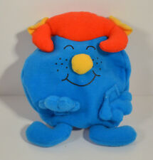 """REVERSIBLE 2001 Mr Tickle Miss Giggles 5"""" McDonald's EUROPE Plush Action Figure"""