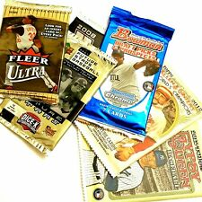 DEALS OF THE WEEK Baseball 6-Pack Lot ASSORTED Collectible TRADING Card PACKS
