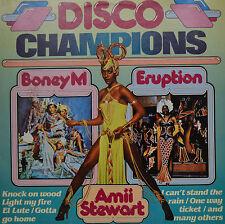 "DISCO CHAMPIONS - BONEY M - ERUPTION - LP 12"" (S219)"