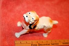 Vintage J.B. Hand Painted Ceramic American Cocker Spaniel Dog Statue