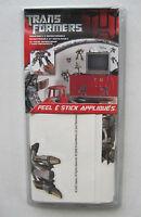 Transformers Peel & Stick Applique Precut Reusable Removable Wall Decor