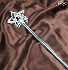 Star Style Rhinestone Scepter Wand Double Side Party Costumes For Kids Accessory