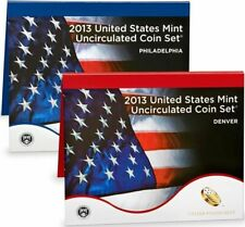 2013 US Mint  Uncirculated Coin Set 28 Coins Philadelphia and Denver