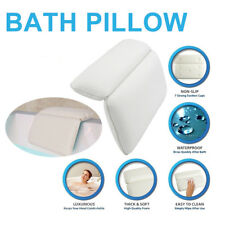 AU Bath Spa Pillow Cushion Neck Back Support Foam Soft Bathtub Tub PVC Headrest