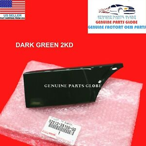 GENUINE TOYOTA FJ CRUISER GREEN LEFT FRONT BUMPER COVER FILLER 52513-35100-G0