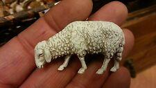 1 pecora animali per  pastori landi 10 cm presepe crib shereped