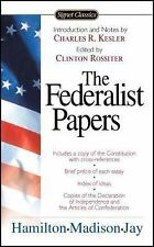 The Federalist Papers [Signet Classics] Hamilton Madison Jay PRIMARY HISTORY SRC