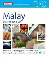 NEW Berlitz Malay Phrase Book & CD by Berlitz Publishing