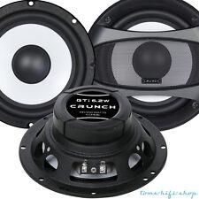 Crunch GTI-6.2W 16,5cm 165mm Kicker Basslautsprecher Lautsprecher Kickbass Auto