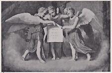 D3847 Moretto - Particolare de Il Presepio - Stampa d'epoca - 1939 vintage print