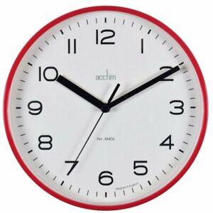 Acctim Runwell Quartz 200mm 20cm Round Wall Clock