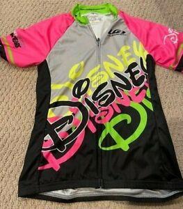 Disney Official Triathlon Team Bike Jersey Female Size Small Louis Garneau
