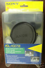 Sony VCL-HG0758 0.7 Wide-Angle Lens PD150,PD170, DSR250