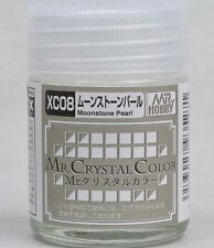 MR HOBBY Crystal Color Gunze LACQUER XC08 Moonstone Pearl MODEL PAINT 18ml US