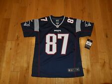 2016 Nike ROB GRONKOWSKI NEW ENGLAND PATRIOTS Youth NFL Team Replica JERSEY Med