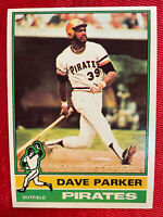 1976 Topps DAVE PARKER #185 MVP Card PITTSBURGH PIRATES