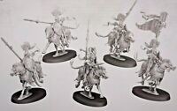 Warhammer AoS Lumineth Realm-Lords Vanari Dawnriders (5) w/Command!  -NoS-