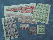 Briefmarken,Danzig, Bogenware .
