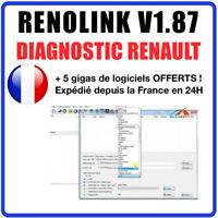 ✅ Logiciel RENOLINK 1.87 - Version Officielle DDT2000 MULTIDIAG DDT 2000