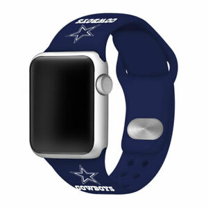 Dallas Cowboys Silicone Sport Band Compatible With The Apple Watch