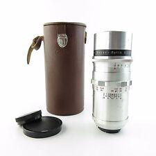 Para Exa/Exakta Meyer Optik Alu primotar 1:3 .5/135 red V objetivamente lens + Case