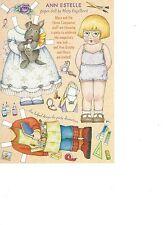 Mary Engelbrite Paper Doll Print Uncut Ann Estelle Feb/Mar 2002 New
