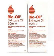 2x 60ml Bio-Oil Óleo De Cuidados Da Pele (120ml total)