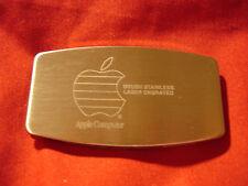 OOP RARE VINTAGE APPLE COMPUTER INC ZIPPO RAINBOW LOGO SALESMAN SAMPLE KNIFE
